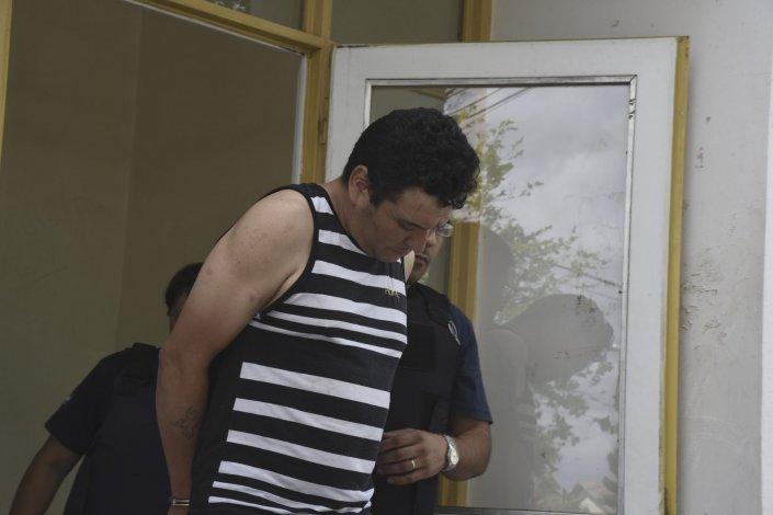 Nelson Aguilante quedó detenido en la Comisaría Mosconi a la espera del control judicial de hoy.