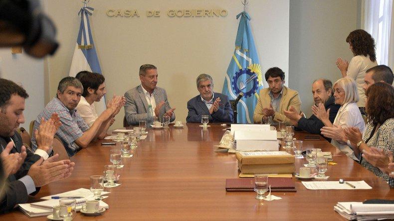 El ministro Alberto Gilardino destacó que esta licitación es parte de la búsqueda de transparencia y optimización de los recursos del Estado.