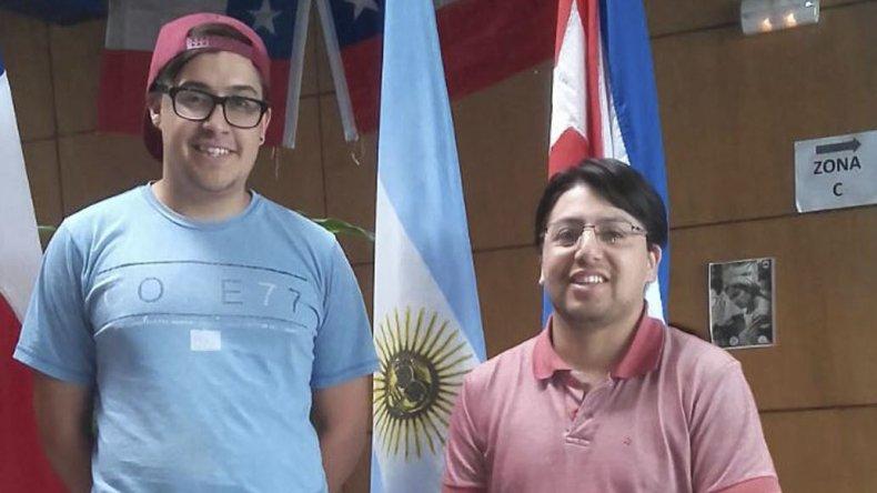 Gabriel Ulloa y Andrés Aguilar en Quellón