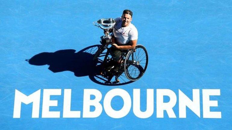 Gustavo Fernández, campeón del Abierto de Australia