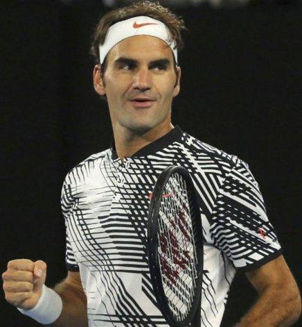 Roger Federer no jugó mucho en 2016 por una lesión en la rodilla y en Australia recuperó gran parte de su amplio repertorio.