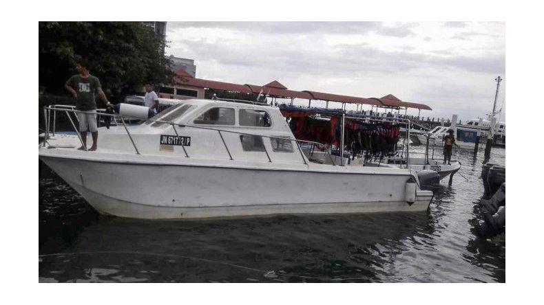 Se hundió un barco en Malasia y buscan a cuatro pasajeros
