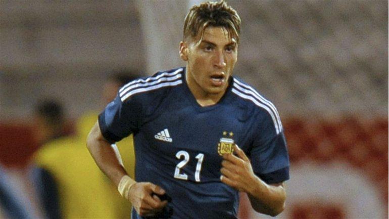 Marcelo Torres es el goleador de Argentina en el Sudamericano de Ecuador.