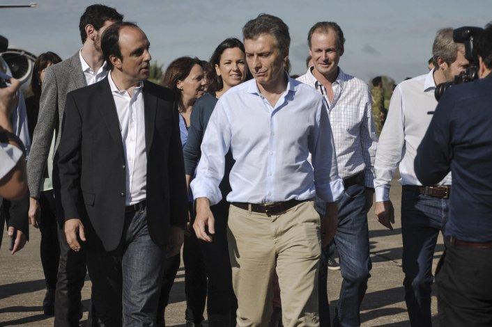 Macri junto a José Corral