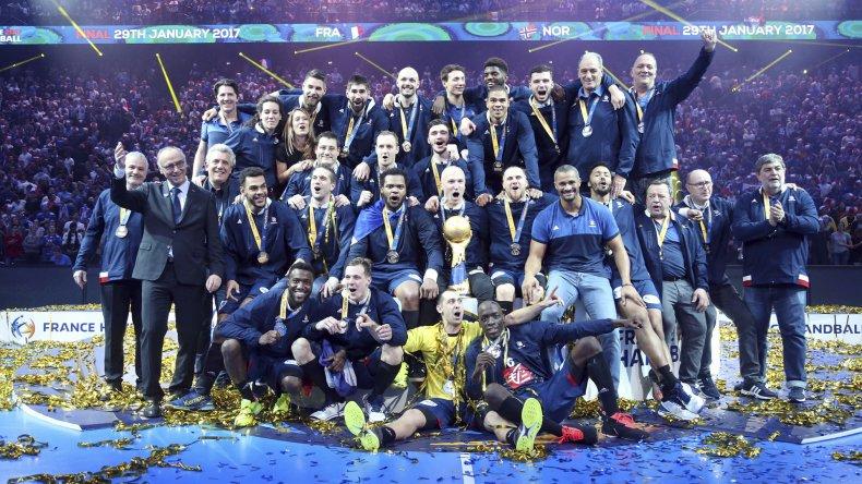 La selección de Francia festejó su sexto título mundial.