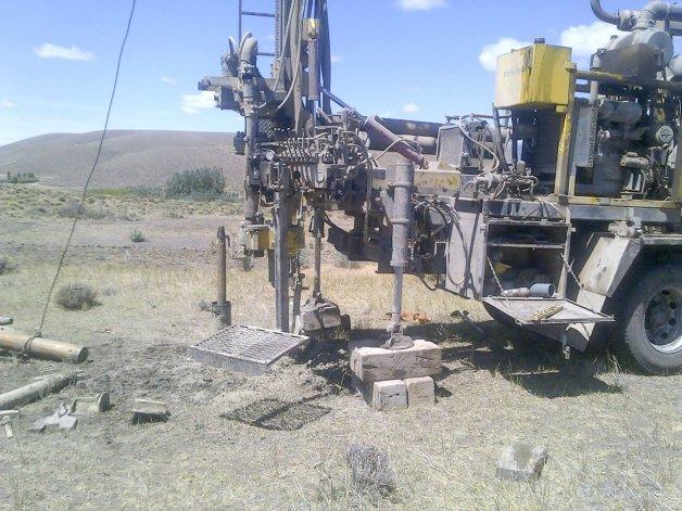 Corfo está realizando una importante obra para asegurar el aprovisionamiento de agua en Cushamen.
