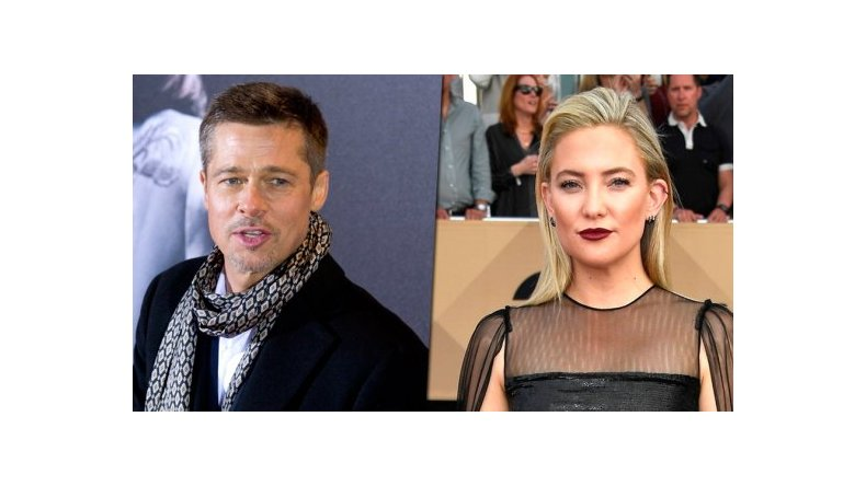 Brad Pitt estaría viviendo con la actriz Kate Hudson