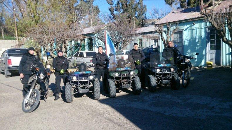 En el lugar también funcionará la base del Grupo Operativo Motorizado Policial.