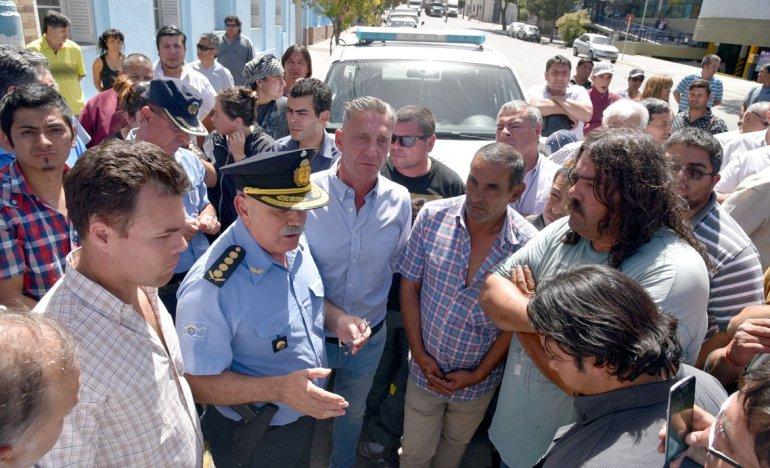 El jefe de la Policía de Chubut