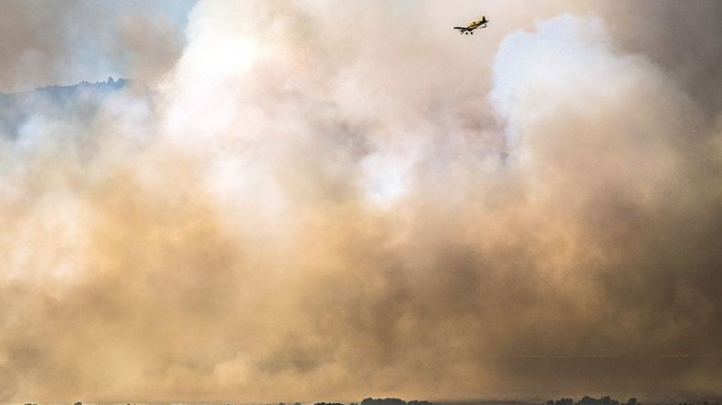 El fuego ya consumió 1.500 hectáreas en Junín de los Andes