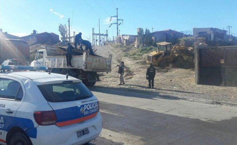 Desmantelaron otra vez el aguantadero de Los Nieves en el Quirno Costa
