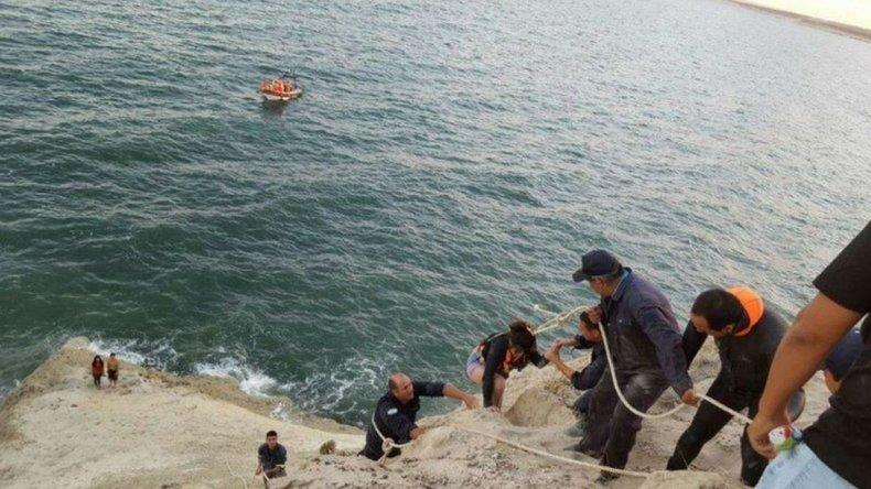 Rescataron a seis personas en El Doradillo