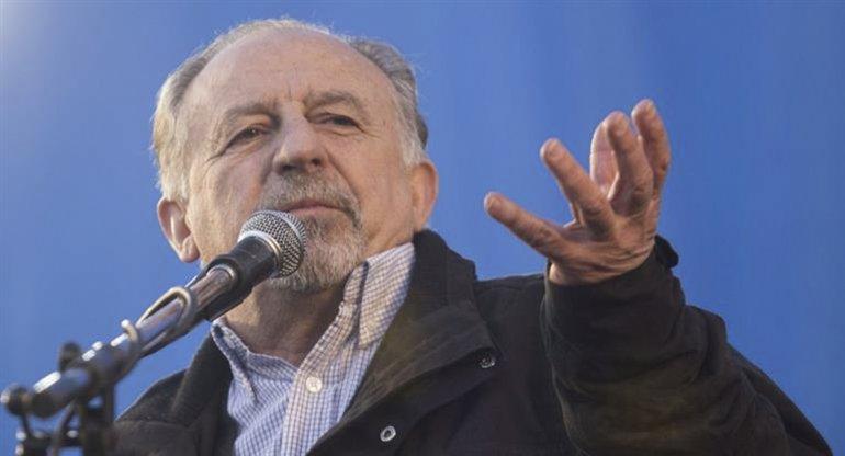 Yasky ratificó la idea de unificar su organización con la que conduce Pablo Micheli en 2018.