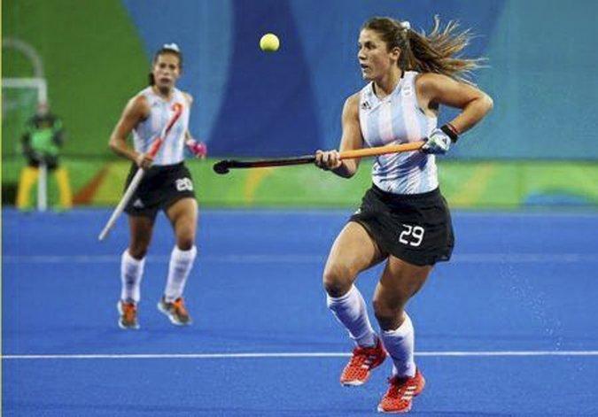 Gomes Fantasia en un partido de los últimos Juegos Olímpicos.