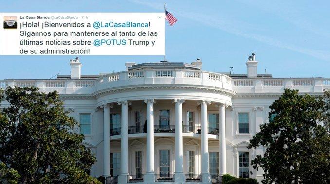 La Casa Blanca abrió una cuenta de Twitter en español
