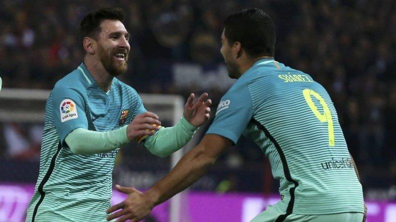 El Barcelona venció al Atlético de Simeone con gol de Messi