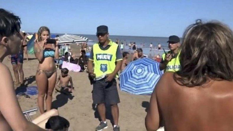 El operativo policial generó un gran revuelo.