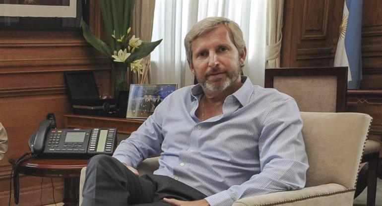 El ministro de Interior