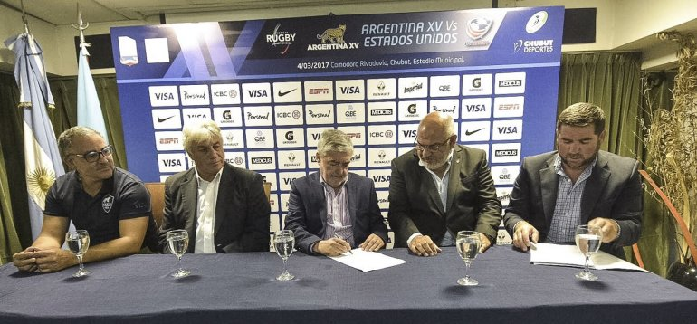 Das Neves firmó el contraro con la UAR para el partido del 4 de marzo en Comodoro.