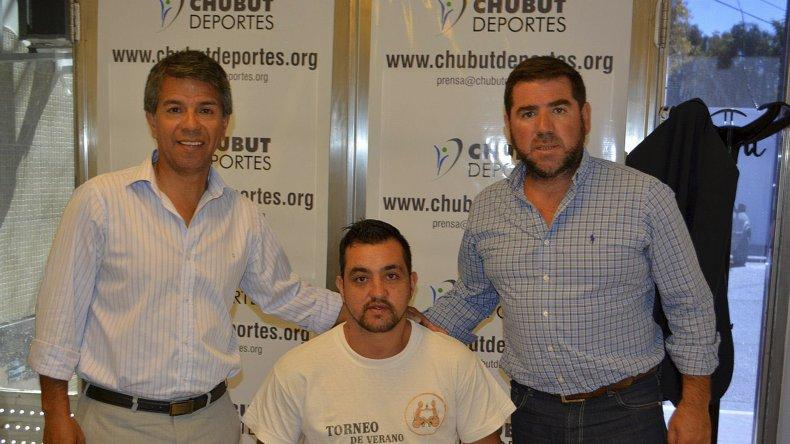 Gonzalo Germillac recibirá apoyo de Chubut Deportes para viajar a la concentración.