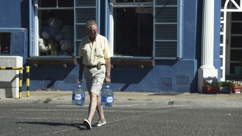 Ya no sabemos cómo sostener la disponibilidad de agua