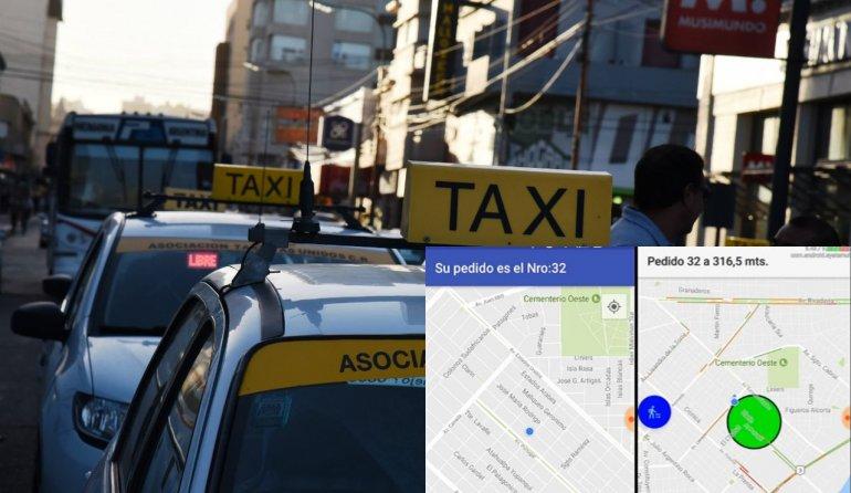 Lanzarán una app que permitirá pedir un taxi y conocer el perfil del chofer