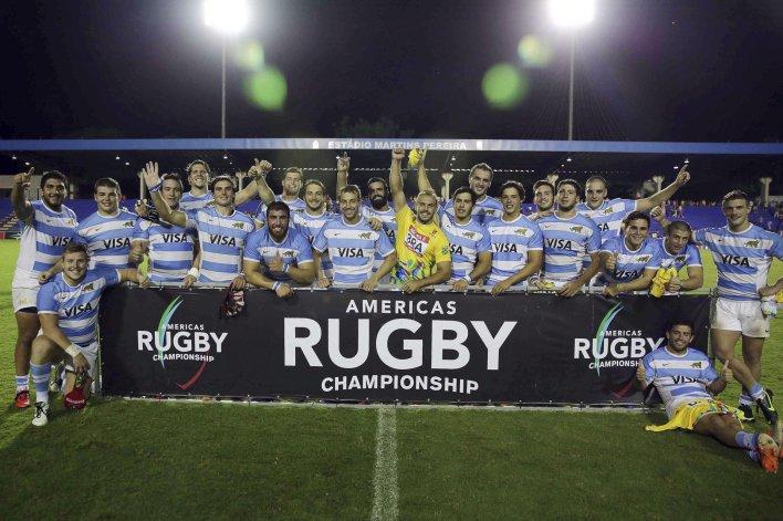Argentina XV obtuvo el título del Americas Rugby Championship 2016.