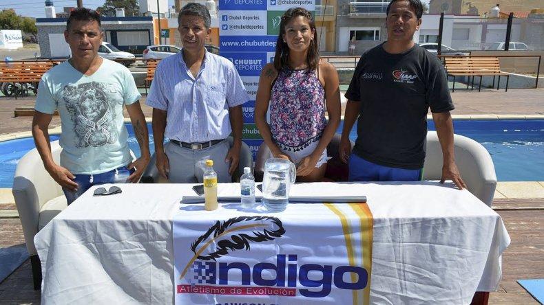 La prueba se presentó ayer en Rawson y se disputará en Playa Unión.