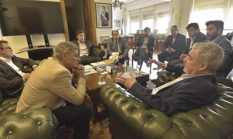 El gobernador se reunió ayer con el ministro de la Producción de Nación
