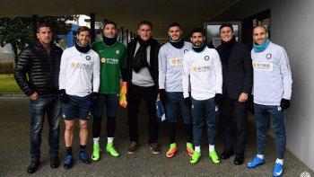 Edgardo Bauza se reunió con Icardi