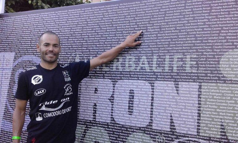 Martín Bravo se clasificó al Campeonato Mundial de Ironman