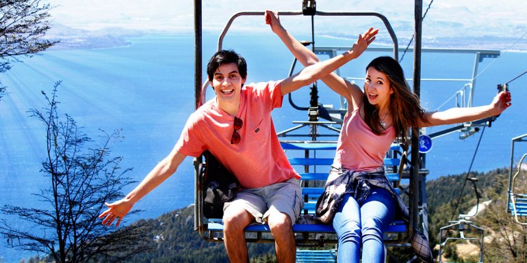 Las actividades de montaña son las más solicitadas por quienes decidieron pasar el verano en la ciudad cordillerana.