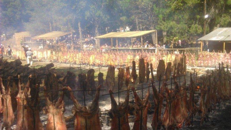 La Fiesta del Asado en Cholila recibió miles de visitantes