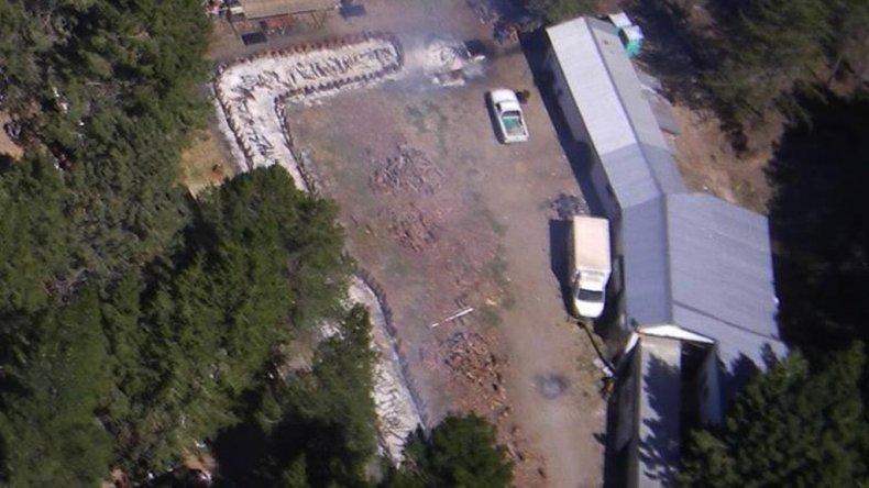 La Fiesta del Asado desde un drone.