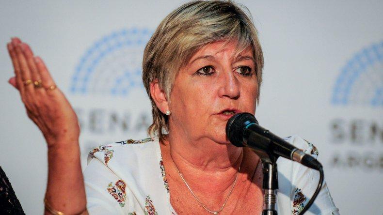 La senadora González salió a defender a Península Valdés de la privatización