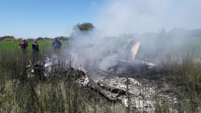 Cinco muertos en accidente aéreo
