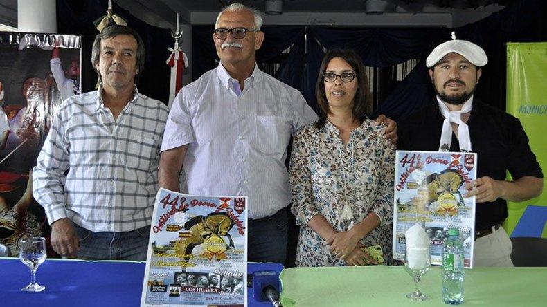 El intendente Britapaja respaldó el festival ayer