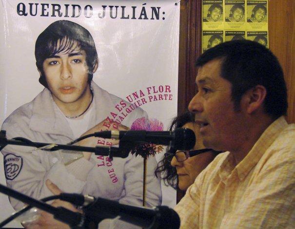 El padre de Julián Antillanca