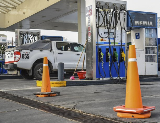 Por el conflicto de SP, Comodoro sigue sin distribución de combustible