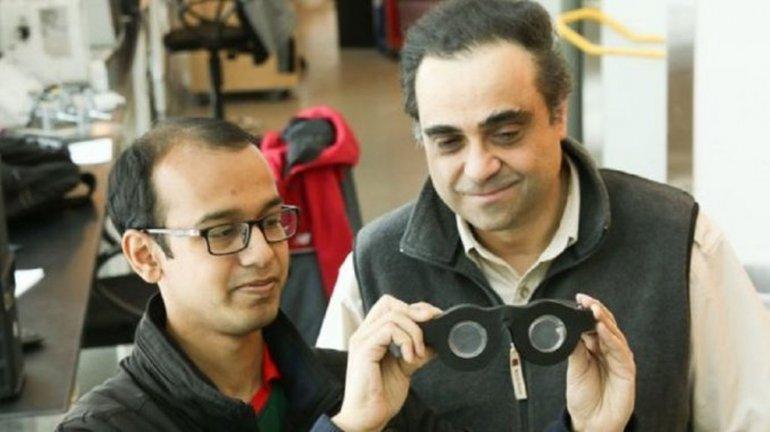 Un argentino creó unos anteojos eternos y sin cristales
