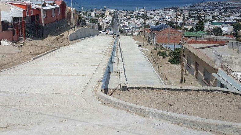 Avanza la obra del muro de contención en Pietrobelli