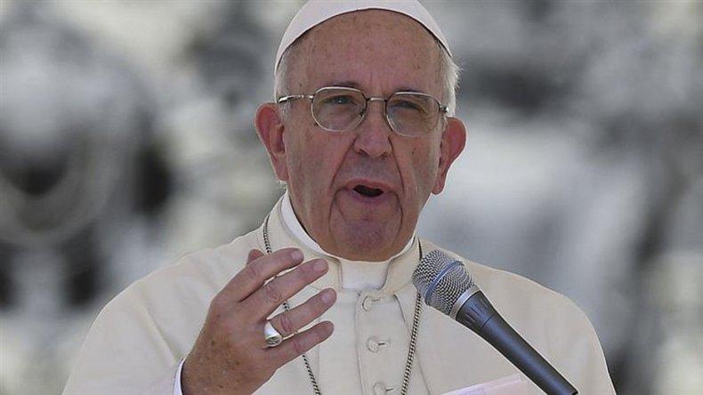 Francisco se refirió a los abusos cometidos por curas.