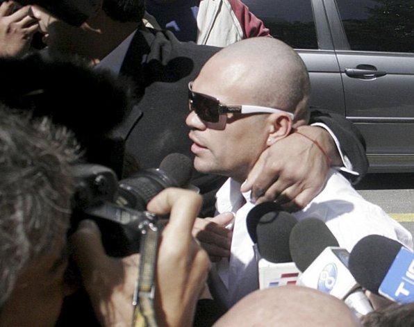 Barrios había sido condenado a tres años y siete meses de prisión.