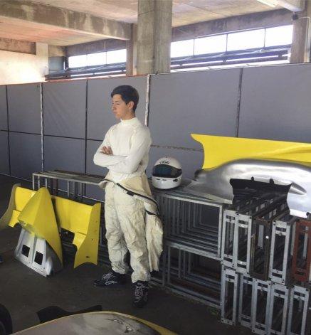 Renzo Blotta probó en el Roberto  Mouras y el balance fue positivo