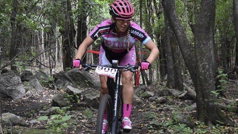 Marcia Larrauri clasificó tercera en el Cross Country de ciclismo de montaña