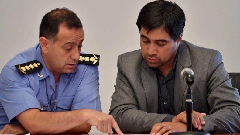 El jefe de Policía Luis Aviles