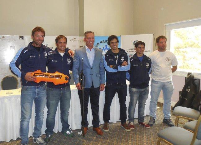 El Club Náutico YPF realizó la presentación del certamen.