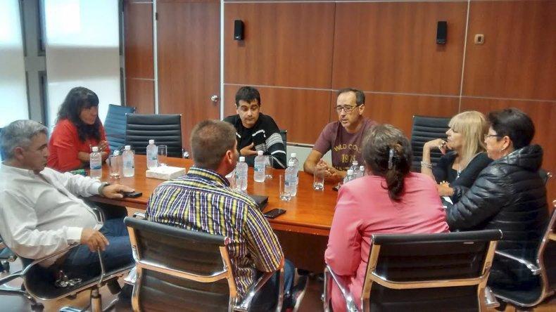 Diputados del FpV recibieron ayer a gremialistas de cerámicos