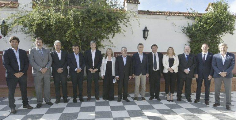 El gobernador de Chubut tuvo un lugar destacado