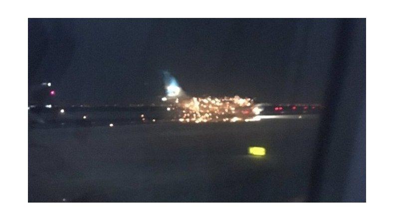 Desperfecto en avión de Aerolíneas Argentinas alertó en Nueva York